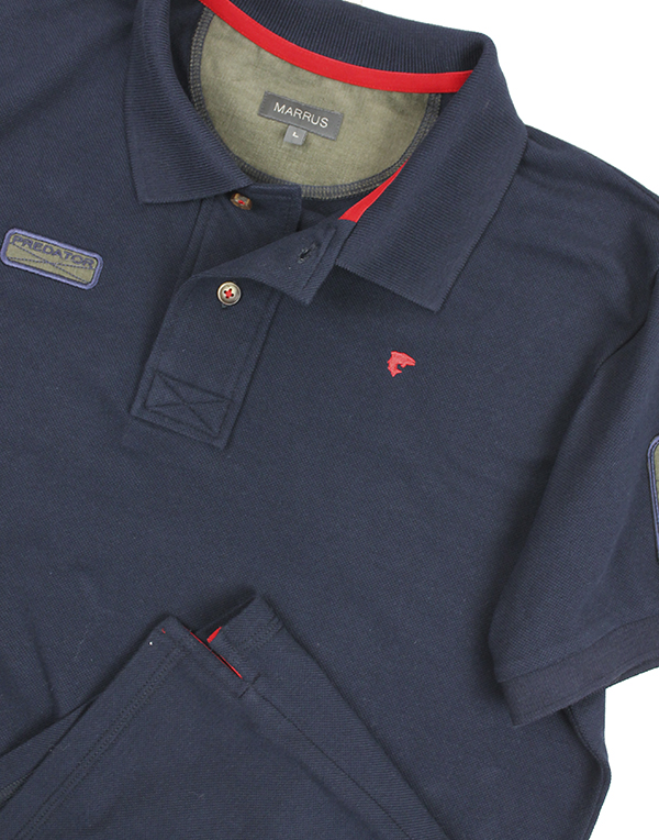 Polo Predator T-shirt navy blue