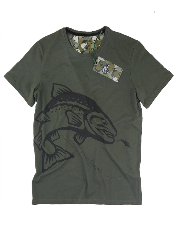 T-shirt  trout