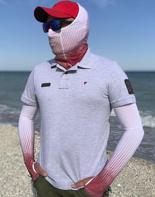 Polo Predator T-shirt gray melange