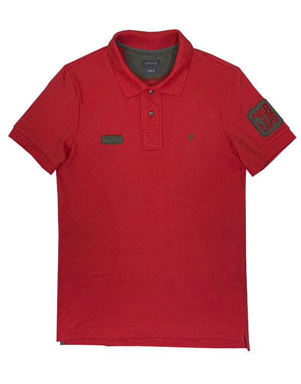 Polo Predator T-shirt red