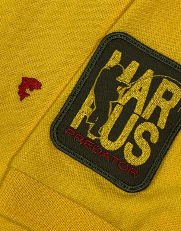 Polo Predator T-shirt yellow