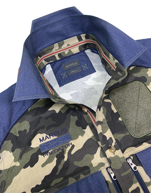 Men's shirt Predator Woodland