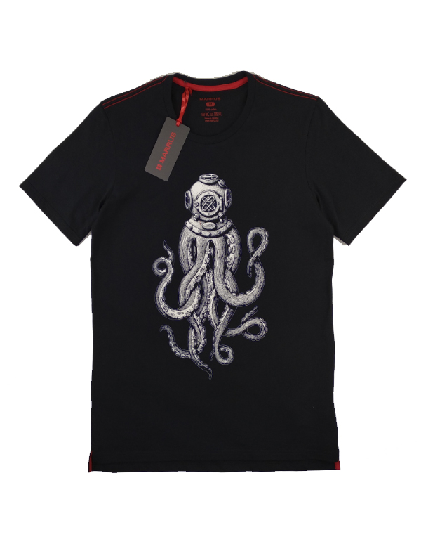 T-shirt  Marrus kraken black
