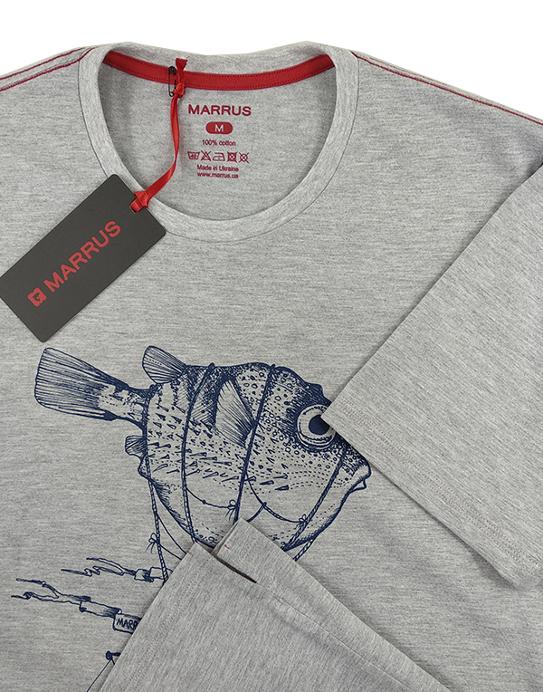 T-shirt  Marrus Airship melange